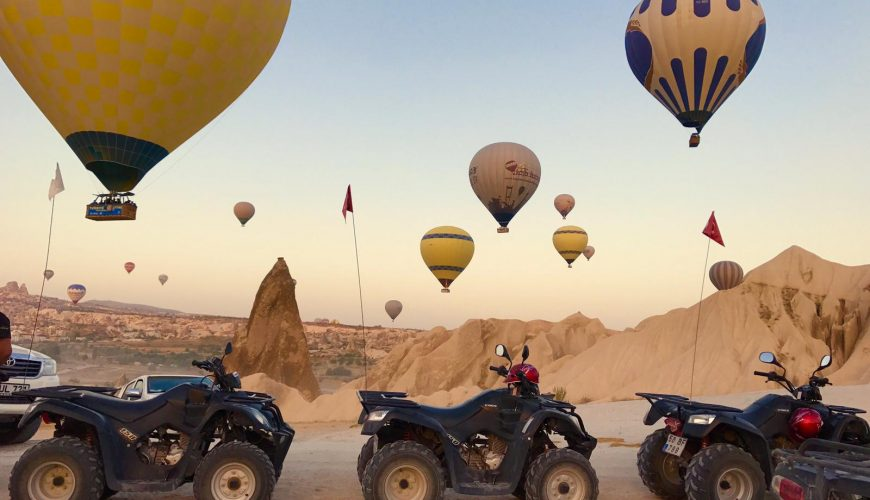 sun rise quad safari cappadocia